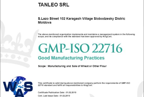 GMP-ISO 22716