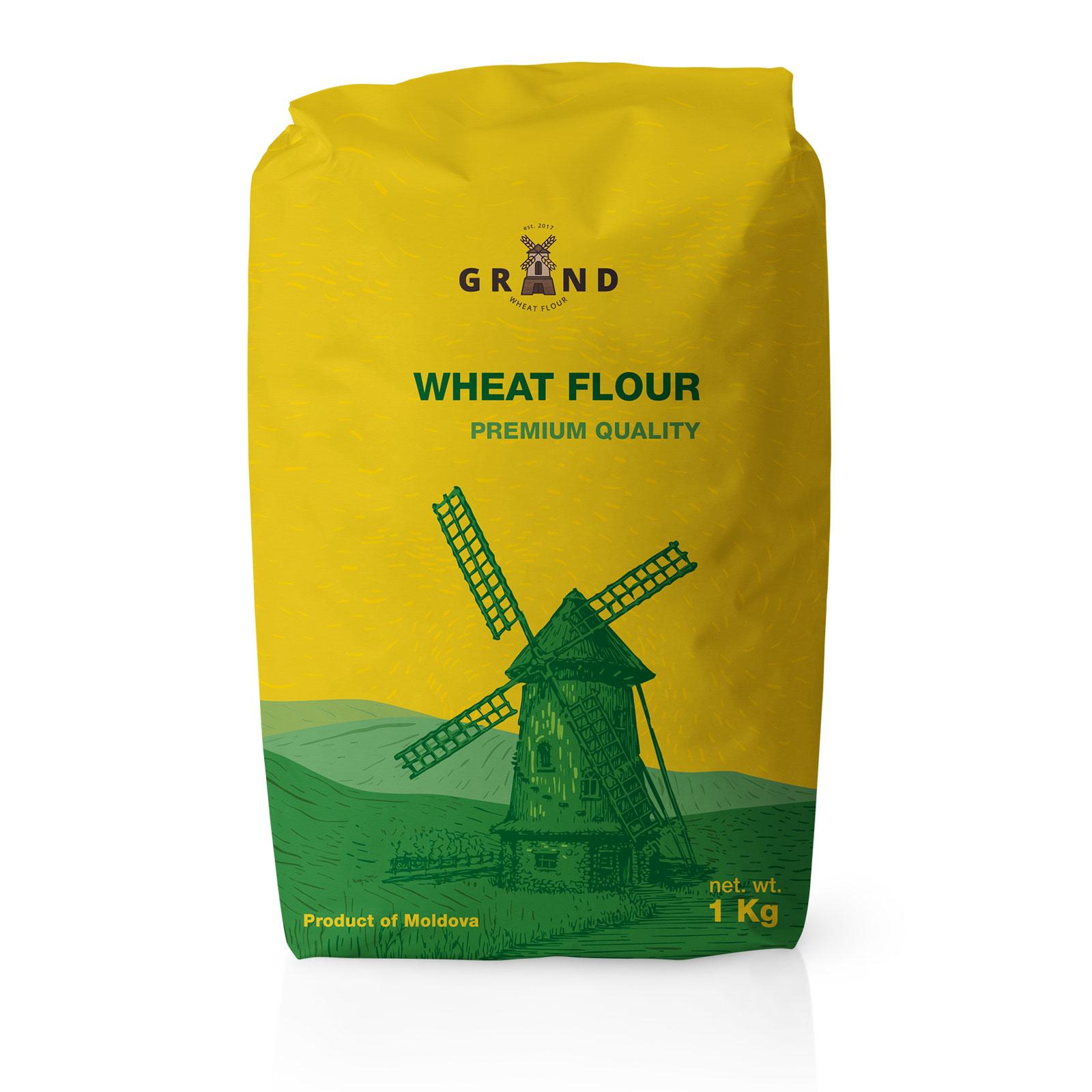 wheat flour premium tanleo