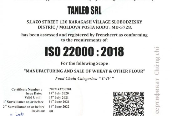 ISO 22000- 2018