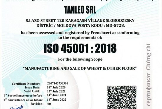 ISO 4501 - 2018